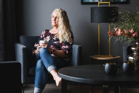 INTERIØR: Merete Jensen står bak interiørprofilen Villa_merete på Instagram, og skal nå flytte til et mindre hus i Hølen.