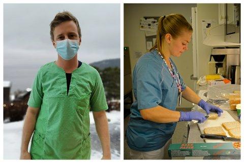 Marius (35) og Ida-Helen (26) har begge valgt yrker i helsesektoren. Det gjør at de har trygge jobber de neste 20 årene.