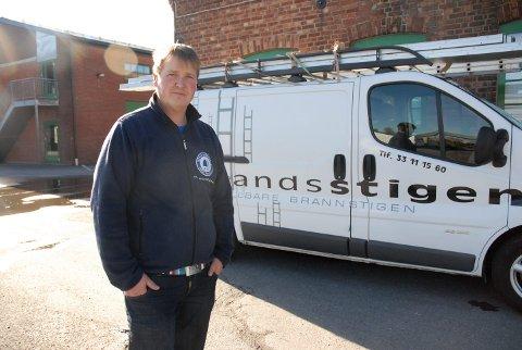 Heldige: Vi hadde flaks, sier daglig leder i Sørlandsstigen AS, Kjetil André Engvoldsen.