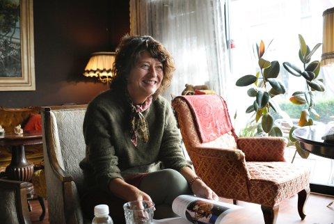 LAGER FESTIVAL: Astrid Borchgrevink Lund fyller byen med forfattere og musikere dennehelga med Litteraturfestivalen.