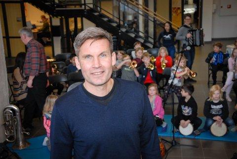HARDT ARBEID LØNTE SEG: Kultursjef Bård Jacobsen skryter av mangfoldet i kommunen etter at Larvik ble årets kulturkommune i Vestfold.
