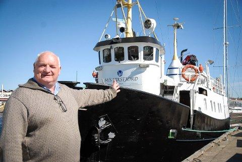 VELKOMMEN: I vinter sa Jan Borgen at det ikke ble noen båtturer på grunn av manglende finansiering. Nå har han endret planene. (arkivfoto)