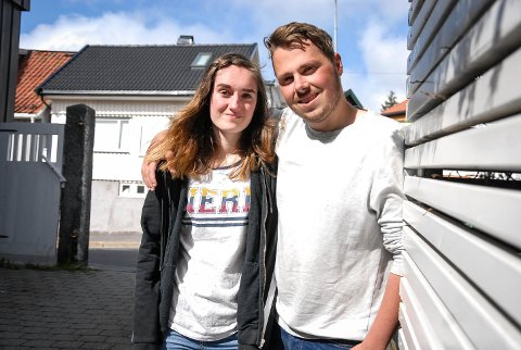 MANGE INTERESSERTE: Live Marie Alviniussen Askerud og Daniel Kristoffer Rinden ønsket seg flere venner. De trodde det var flere som også trengte å utvide nettverket sitt, og det fikk de rett i. Responsen har vært overveldende.