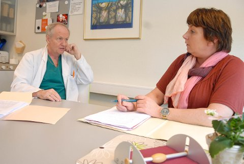 SAMARBEIDET: Doktor Sven Richard haugvik og jurist Ina Dølerud har aldri vært i tvil om at klienten hadde rett til støtte fra Nav. Etter to år uten penger fikk de rett.