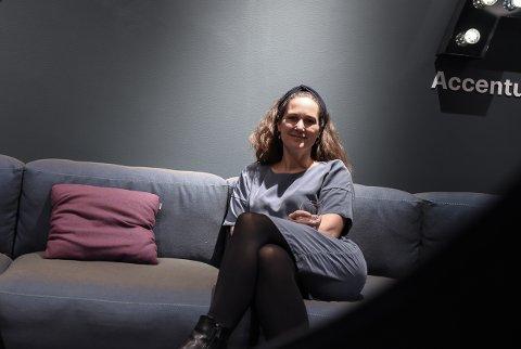 SUKSESS: Mari Heibø-Bagheri fra Larvik gjør stor suksess i Accenture.