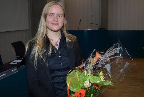 PRISVINNER: Daglig leder Catharina Due Bøhler (33) i Sarepta Studio i Hamar er Årets unge gründer i Hedmark. (Foto: Bjørn-Frode Løvlund)