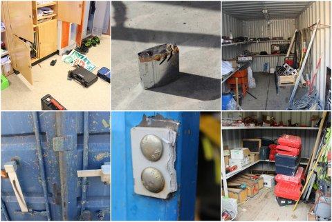 EN REKKE INNBRUDD: Rumeneren raidet flere containere og arbeidsplasser i Elverum og Hamar. Totalt stjal han verktøy for mer enn 400.000 kroner.