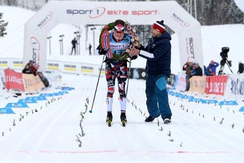 SUVEREN: Petter Eliassen vant Birken i suveren stil.