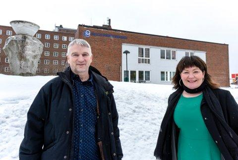 Knut S. Brinchmann og Anita Sollie i Rana Utviklingsselskap sier de måtte svare på noen av påstandene til de tolv kommunene. Resultatet har blitt et notat som tar for seg nettopp dette høringssvaret.