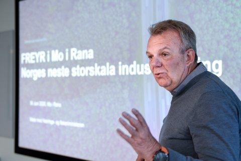 - Selv om vi i Freyr AS ikke selv skal bygge ut noen vindkraftpark på Sjonfjellet, har vi sikret oss rettigheten til å få kjøpe krafta om vindparken blir realisert, sier styreleder Torstein Dale Sjøtveit.