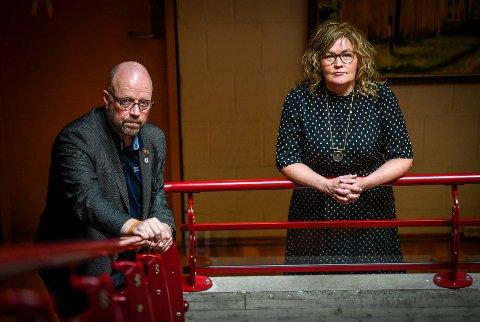 Ordfører Geir Waage (Ap) og varaordfører Anita Sollie (H) i Rana, vil ha feriestengte fødeavdelinger på dagsorden til dialogmøtet med Helgelandssykehuset over påske.