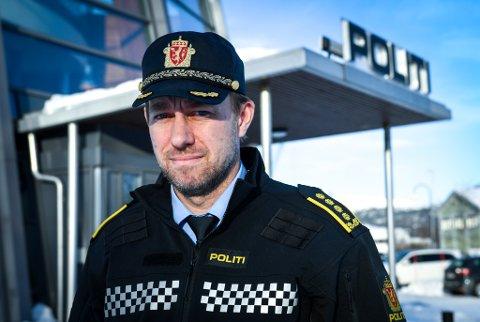 Kristian Hanssen er ny politistasjonsjef på Mo og Helgeland. Han er bekymret for mørketall knyttet til vold i nære relasjoner.