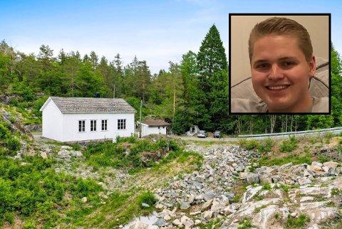 SELGER: Endre Tangen selger eiendommen i Fossing.