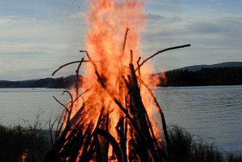 Symbolsk: Det blir leirbål, allsang og mye, mye mer når Hønefoss speidergruppe inviterer til 100-års fest på Petersøya i september.