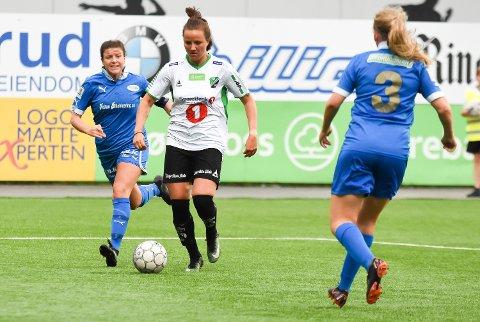 Ingvill Hågensen spilte en glimrende kamp, og var også sist på to av nettkjenningene.