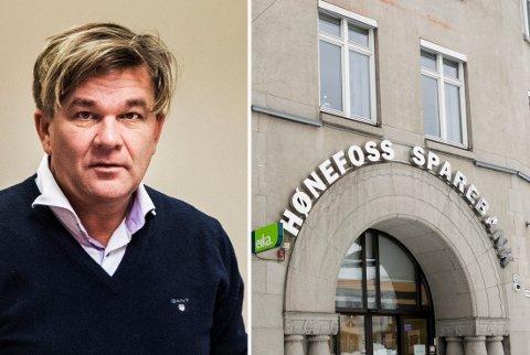 HAR FÅTT INKASSOKRAV: Rallystjernen Henning Solberg har fått et inkassokrav på 4,6 millioner kroner fra Hønefoss Sparebank. Banksjefen mener de har tilfredsstillende sikkerhet.
