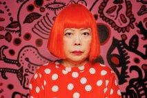 """Yagoi Kusama har laget et kunstverk """"Shine of life"""" som skal avdukes på Kistefoss."""