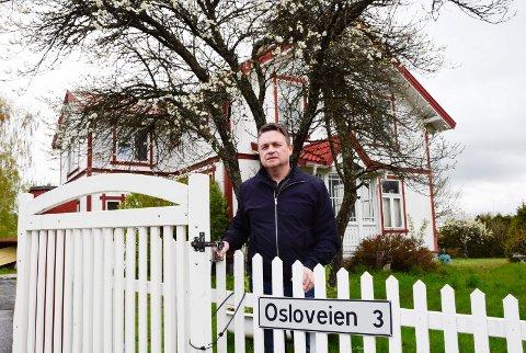 FELLES: Glenn Thoresen vil ta et initiativ overfor Ringerike kommune om et fellesprosjekt for utvikling av Osloveien 3/5 og kommunens naboeiendom.