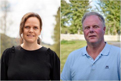 DEBUTANTER: Ellen G. Simensen fra Hallingby og Ole-Petter Vaaten fra Tyristrand.