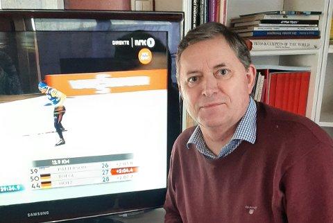 MYE OMTALE: - Vår søkeprosess setter fokus på Hønefoss utenfor regionen, sier leder i Ringerike Høyre, Nils Helle, som nå om dagen koser seg med TV-sendinger fra ski-VM.