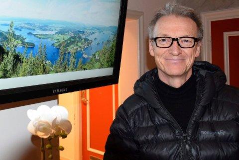FLERE PLANER: Olaf N. Lofstad har også planer for en annen del av eiendommen ved Tyrifjorden.