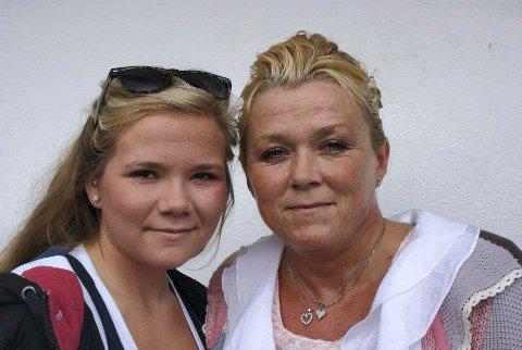Michelle og mamma: Her er Michelle sammen med mamma Gry, som døde bare 42 år gammel. Foto: privat