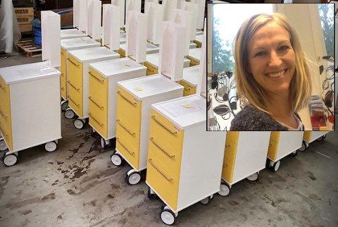 Disse isolasjonsvognene har blitt en braksuksess for firmaet StandardSystem AS. – Tilbakemeldingene vi får er at kundene er svært fornøyde med produktene våre, sier salgssjef Kristin Hornbæk-Simonsen.