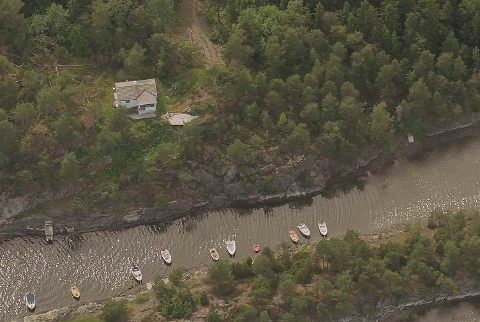 SOLGT: Fagertunveien 35 i Båtstø gikk for 8,5 millioner kroner.