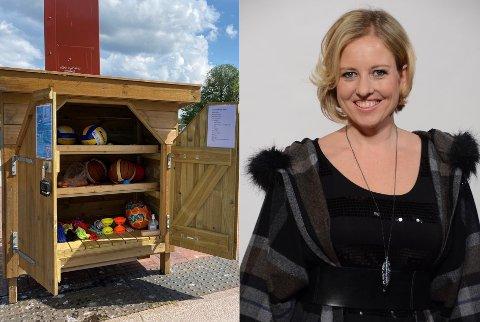 ENGASJERER: Daglig leder i Holmshornet AS, Linda Eirin Massey har inngått et samarbeid med Asker kommune. Aktivitetsskapet skal samle ungdom for aktiv lek og moro.