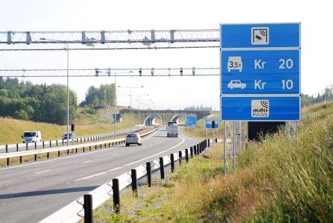 ÅSTEDET: Her, på E18 mellom Sandefjord og Larvik, ble Stavanger-mannen målt til 176 km/t.