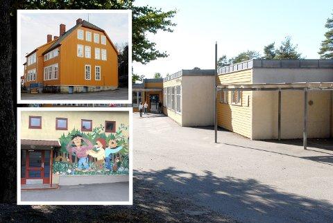 SKAL BLI EN: Framnes, Ormestad og Vesterøy skoler skal bli én storskole.