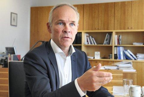 - Staten er en god arbeidsplass for ambisiøse arbeidstakere, mener kommunal- og moderniseringsminister Jan Tore Sanner (H).