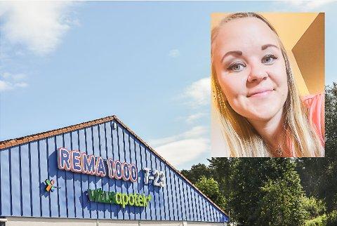 Kristine Berg (25) var én av 130 stykker som søkte jobb på Rema 1000 i Hurrahølet. Hun fikk jobben.