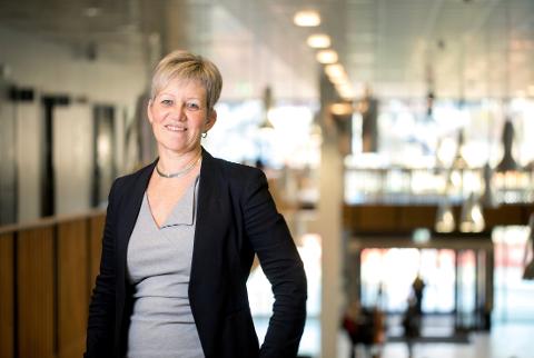 GODE TILBAKEMELDINGAR: Prorektor for utdanning Bjørg Kristin Selvik kan konstantera at studentane er nøgde, sjølv om det har vore eit annleis år.