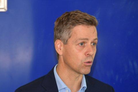 SKÅRAR HØGT: Knut Arild Hareide meiner MF «Hydra» skårar godt på kriteria for «Ship of the year».