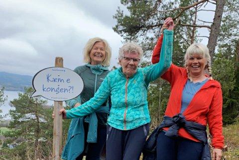 Marit Anna Ringseth (90) har hatt astma og problemer med lungene i mange år. Det hindrer hun ikke i å trene, og i forrige uke gikk hun opp Kvamsåstrappa med døtrene Aud Marit og Brit.