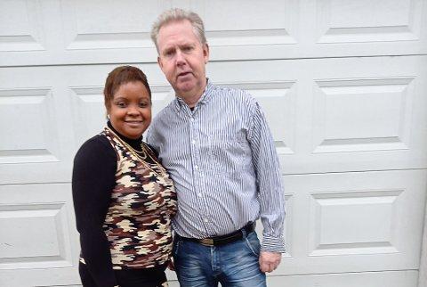 Zuleidis Smerkerud og mannen Roger Smerkerud møttes på Cuba i 2002. Nå er de gift og har to barn.