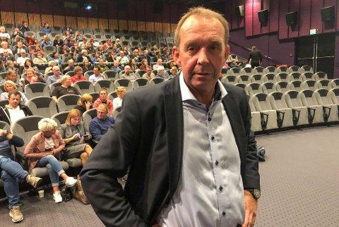 JA OG NEI: Endelig kom svaret til Skien kommune, her ved varaordfører Trond Ballestad, om at kommunens representanter får lov til å møte en fra Justis- og beredskapsdepartementet - men så langt ikke ministeren.