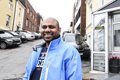 NY RESTAURANT: Fayzur Rahman åpner ny restaurant på Friisebrygga i Porsgrunn før sommeren, om alt går etter planen.