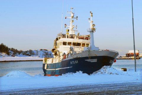 «Tojako» fra Averøy er ett av tre fartøy under 40 meter som får adgang til å delta i fisket, og hver båt får en kvote på 45 tonn makrellstørje.