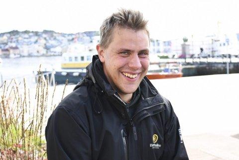 Blidkar: Rune Jørgenvåg er fornøyd med det aller, aller meste i livet.