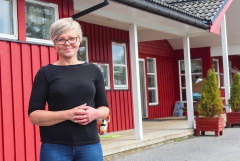 Lena Bentzen, leder i Eide barnehage, er klar for et nytt barnehageår. – Vi skal gjøre vårt aller beste.