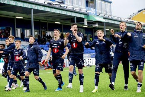 Kristiansund BK har hatt en glimrende start på sesongen. Blir det mer å juble for etter sesongen?