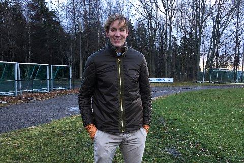 PÅ FLYTTEFOT: Eirik Holmen Johansen, her fotografert hjemme på Teie, er ferdig i New York City FC.
