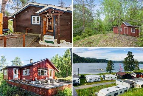 STOR INTERESSE: Dette er noen av de rimeligste hyttene på markedet i Vestfold nå.