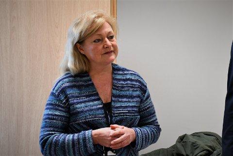 Ordfører Anne Rygh Pedersen ønsker ikke at eldre skal få flere kontaktpunkter enn hva som er helt nødvendig. Hun sier at dusjnekt er på grunn av smittevern. ARKIVFOTO