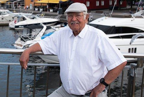 NY LEDER: Knut Andersen har vært konstituert leder i Tønsberg Jazzklubb siden i våres. Lørdag ble han formelt valgt til vervet.