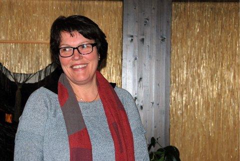 NY LEDER: Britt Jakobsen. ARKIV