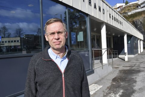 Kommuneoverlege i Tvedestrand Hans Tomter