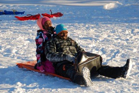 22. desember blir det julearrangement for innvandrerbarn i Valdres. Slik var det i fjor!